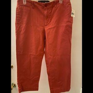 Ralph Lauren Sport Nantucket Red Pants Size 6